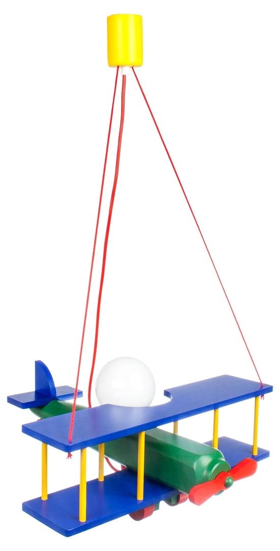 Lampă suspendată pentru un copil, Avion mare 104.11.08