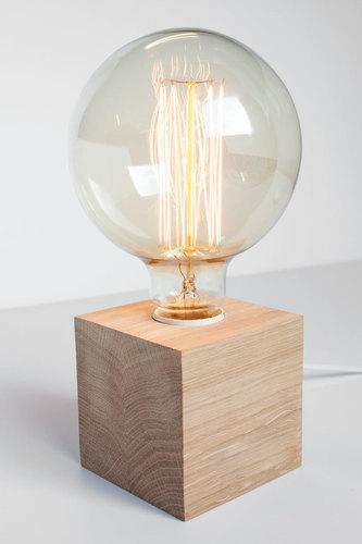 Lampă de masă modernă Cubo 1 cub