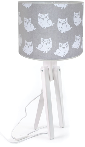 Lampă de masă pentru copii Trivet trepied alb 421.02.26