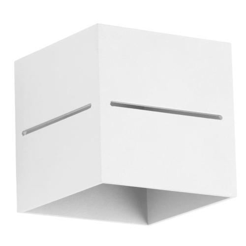 Aplica de perete design Quado Pro A alb