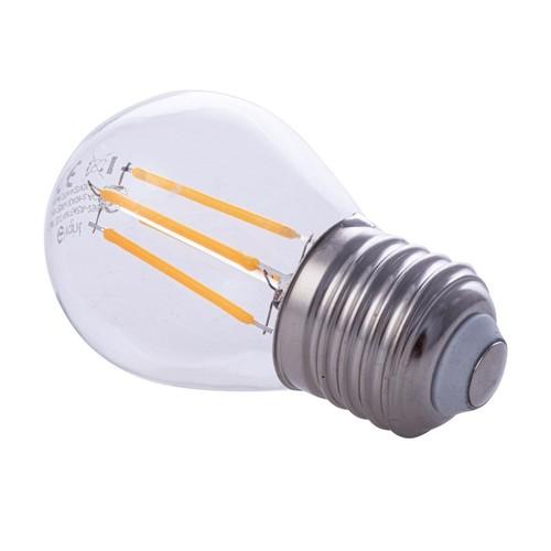 Bec cu filament LED de 4 W G45 E27 2700K