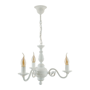 Candelabru cu 3 brațe LONDON (alb) small 1