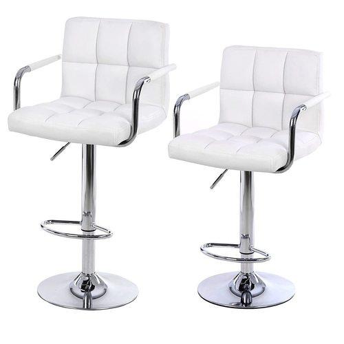 Set de 2 scaune de bar LJB93W
