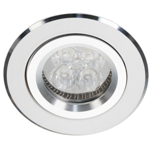 Downlight înclinat alb cu Alcoy 540.WC Chrome
