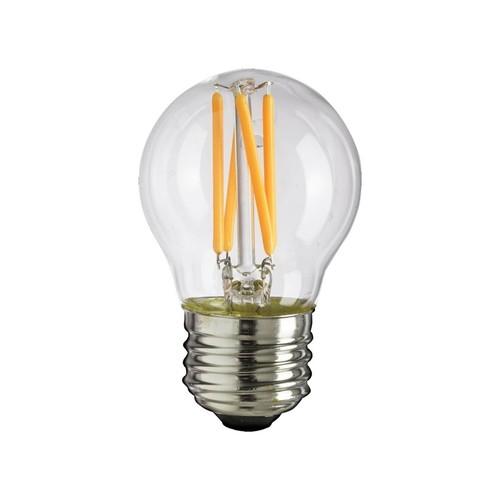 Bec cu filament LED 4W G45 E27 4000K