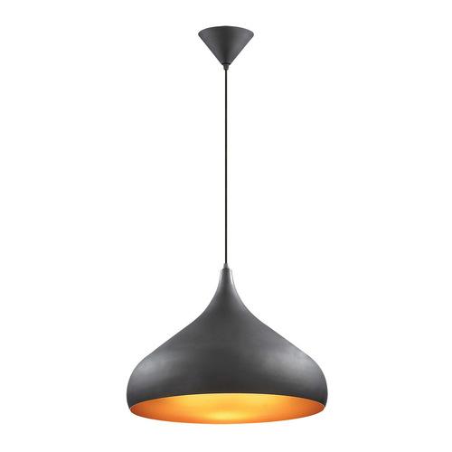Lampă suspendată Juan E27 negru