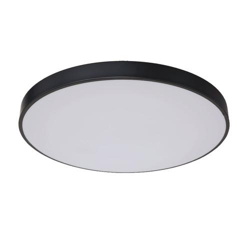 Lampă de plafon mare neagră Rapido