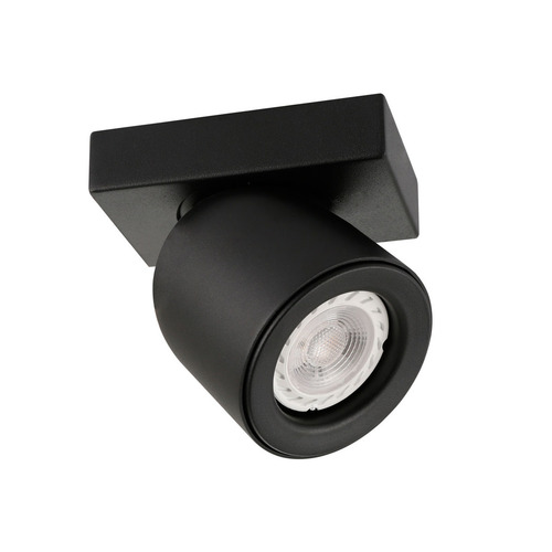 Spot negru modern Nuora GU10