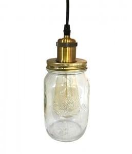 Lampa cu pandantiv Jar Loft Jar mare E27 small 0