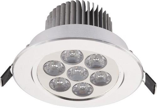 Corp de iluminat. DOWNLIGHT LED VII ARGINT