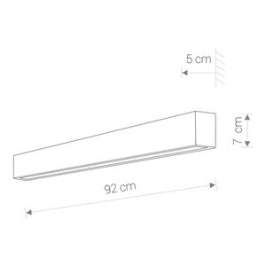 Corp de iluminat LED PERETE DIRECT GRAFIT M small 0