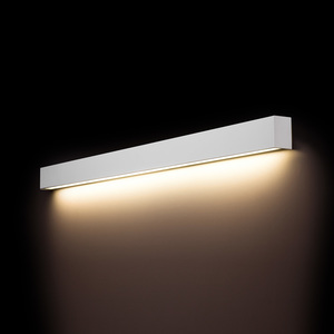 Corp de iluminat LED PERETE DREPT ALB L small 1