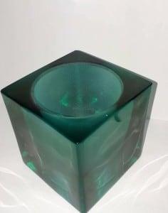 Lampa de abajur Cubetto Smarald small 1