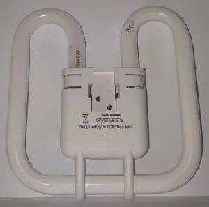 GE Biax 2D Integral 18W / 830 GRZ10d alb cald small 2
