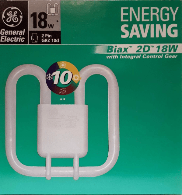 GE Biax 2D Integral 18W / 830 GRZ10d alb cald