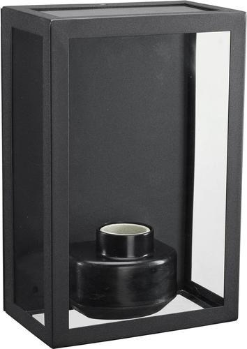Aplica de exterior Kubba 230 IP44 negru - PR Home