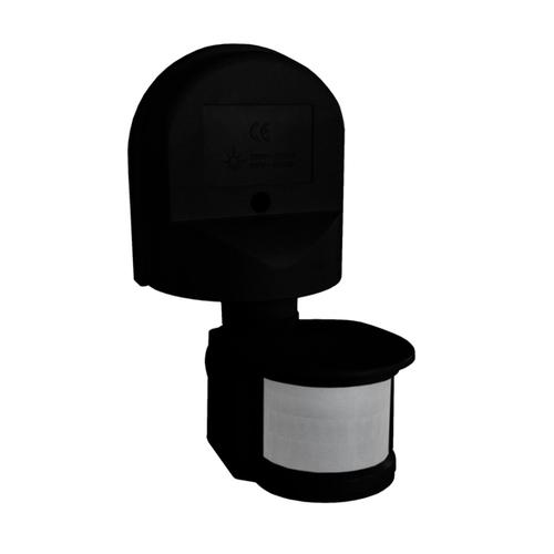 Senzor de mișcare 1300W 180 ° ES34Z negru
