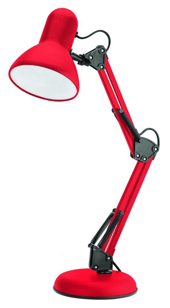 Lampa de birou Pixie 230V / 25W E27 roșu