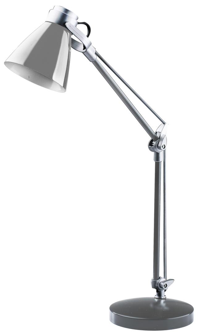 Lampa de birou Sophie 230V / 25W E14 argintiu