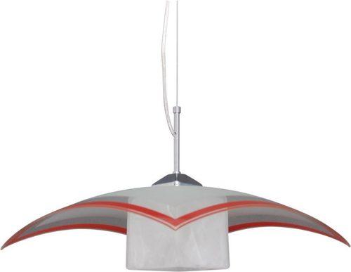 Lampă suspendată K-1520 ZK5-90 roșie din seria VETRO