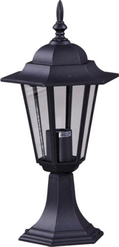 Lampă joasă de exterior K-5009S, de culoare neagră, din seria STANDARD
