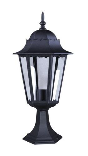 Lampă joasă de exterior K-5006S, de culoare neagră, din seria LOZANA