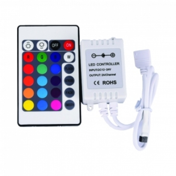 Driverul modulului liniar IP20 RGB LED