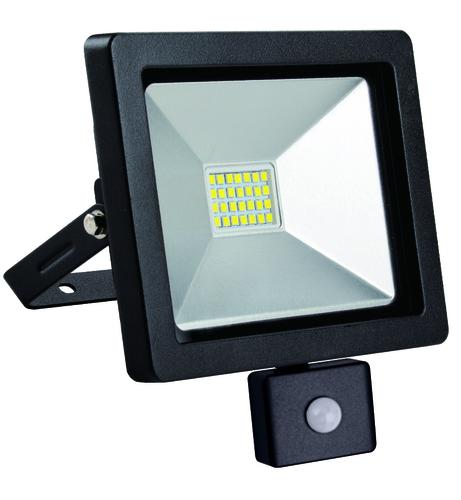 Lampa de inundare LED subțire cu senzor de mișcare 20W / 230V 4000K PIR