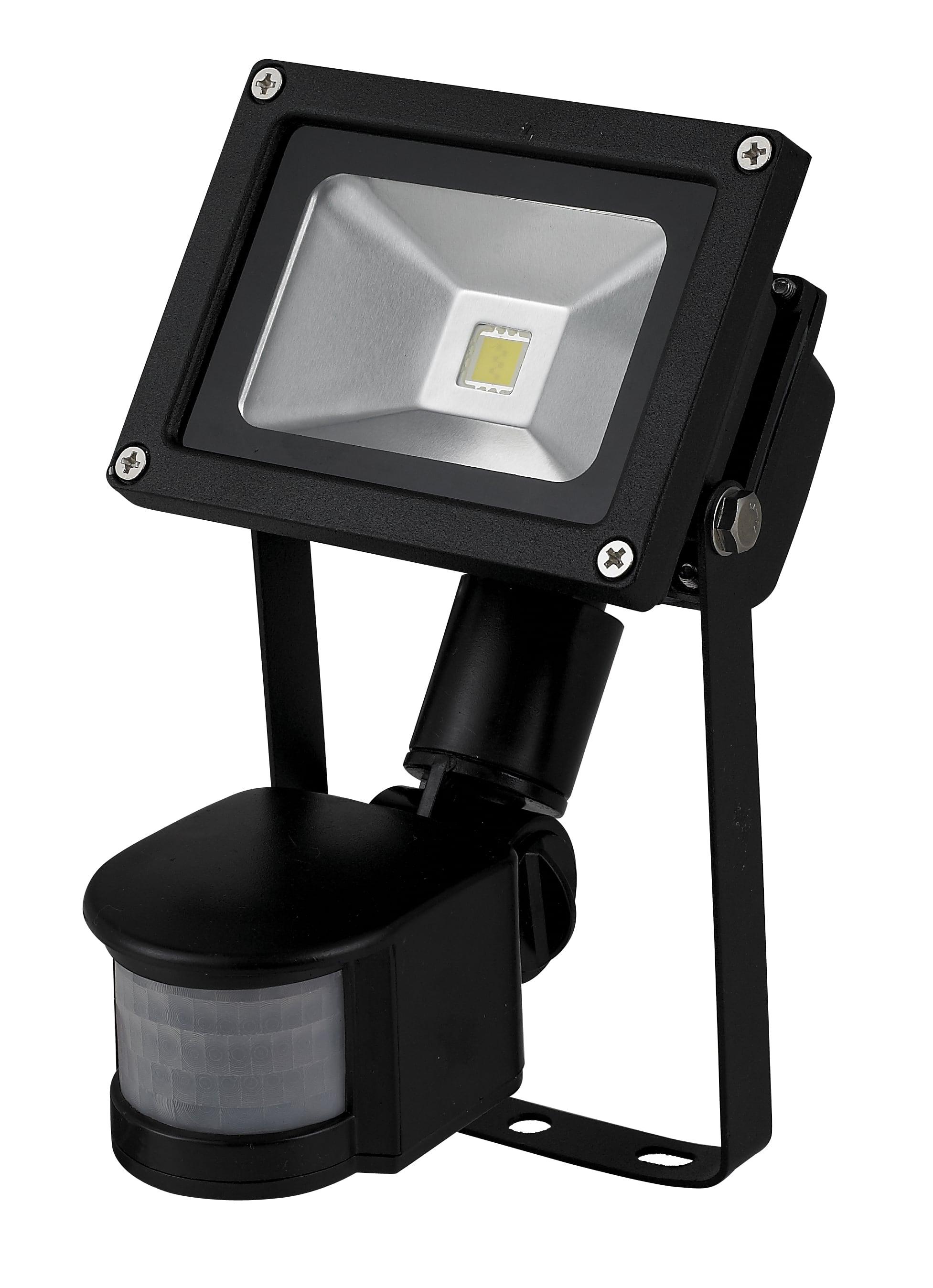 Lampa de inundare LED 10W / 230V 6400K cu senzor de mișcare