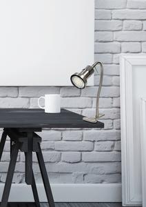 Clip lampă Arkon 1X50W Gu10 nichel satinat + crom fără becuri small 1