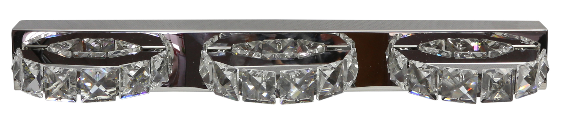 Lampă de perete Shipi 3X3W Cristale cu led din oțel inoxidabil