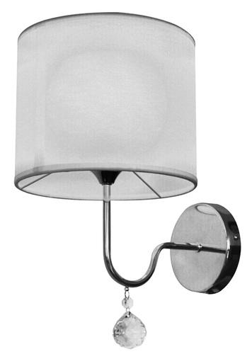 Brava Lampă de perete D-22 1X60W E27 Alb
