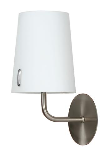 L&H Muscat Lampă de perete 1 * 40W E14 nichel mat