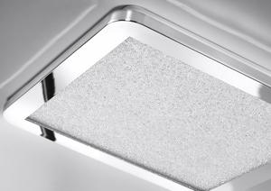 Nexit Plafon Plafon 40X40 24W Led Ip44 Chrome + Granila 3000K small 1