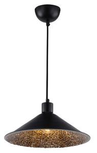 Lampă suspendată Scrimi 2 1X60W E27 Negru small 0