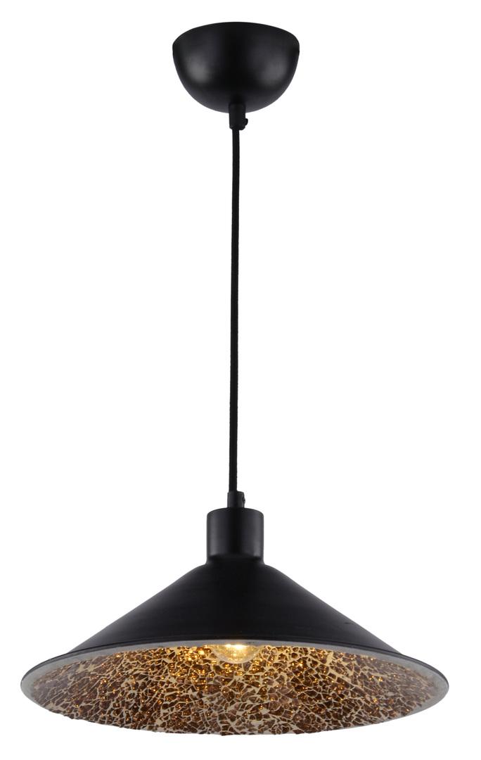 Lampă suspendată Scrimi 2 1X60W E27 Negru