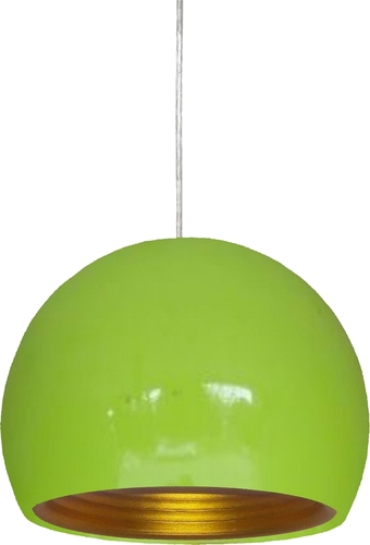 Lampă suspendată Pictor 25 1X60W E27 Verde