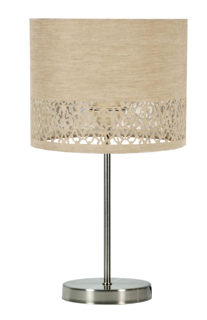 Lampă pentru dulap Arabesca 25X25X20 1X60W E27 Cream (Abajur 77-19502, bază 87-15849)