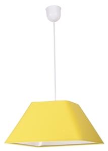 Lampă suspendată Robin 35 1x60W E27 Promo galbenă (abajur 77-01771 + frânghie 85-89369) small 0