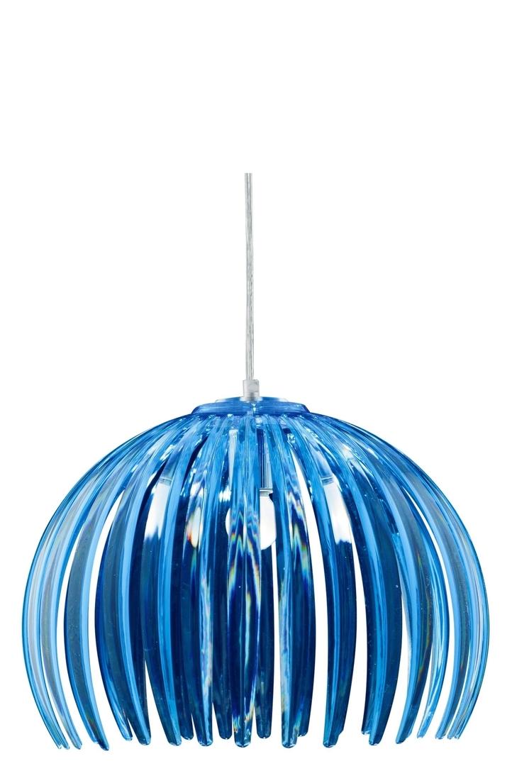Lampă suspendată Abuko 1X60W E27 Albastru