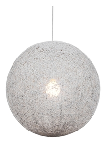 Lampă suspendată Caruba 1X60W E27 Alb 30 small 0