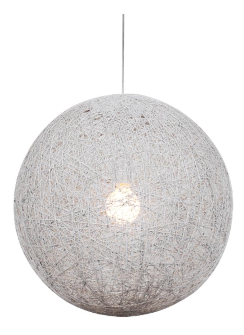 Lampă suspendată Caruba 1X60W E27 Alb 30