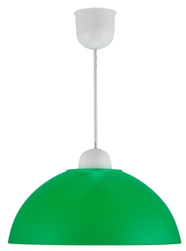 Lampă suspendată Mika Plastic E27 1X60W Verde Promoție