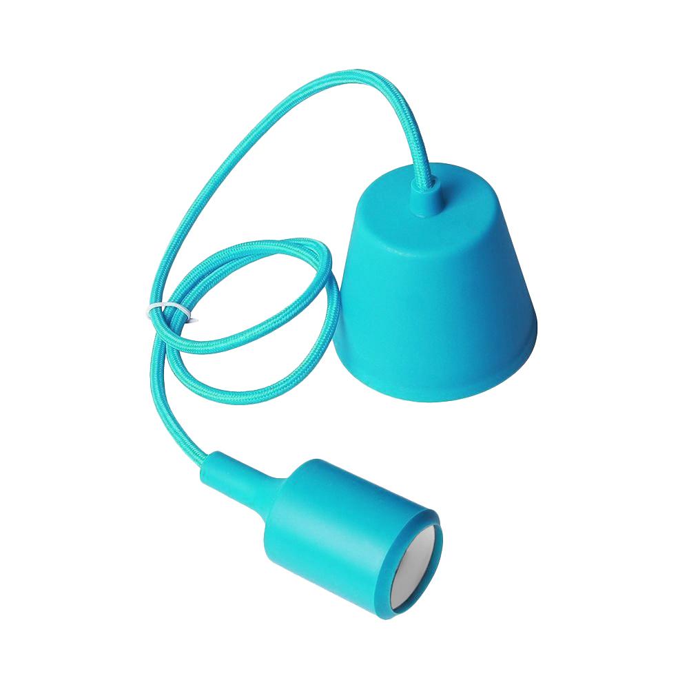 Lampa de tavan Moderna E27 albastru turcoaz 60W