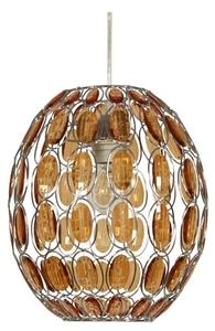Lampă suspendată Selma 25 1X40W E27 Portocaliu + Frânghie 85-10523 small 0