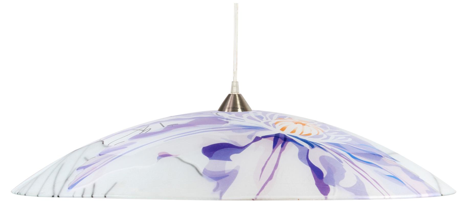 Lampă suspendată de primăvară 40 1X60W E27 Violet