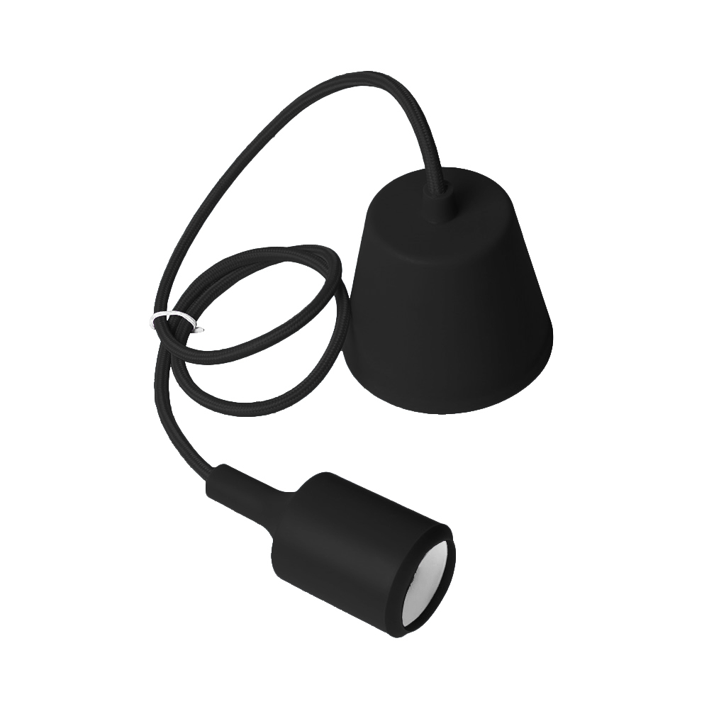 Lampa de tavan Moderna E27 60W negru