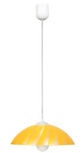 Lampă suspendată Kamila 1X60W E27 Galben