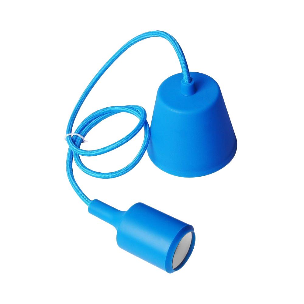 Lampa de tavan Moderna E27 60W albastru