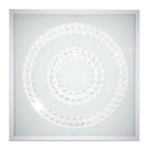Plafoniera Lux Plafond 29X29 16W Led 6500K Inel dublu alb small 0